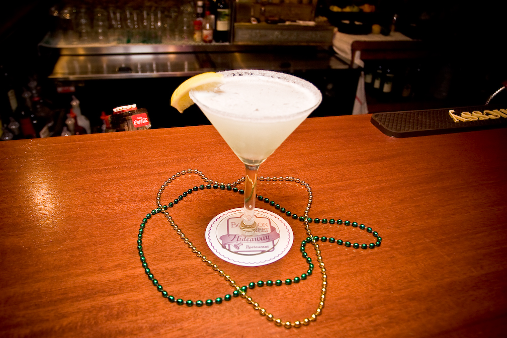 Bourbon Street Hideaway Martini